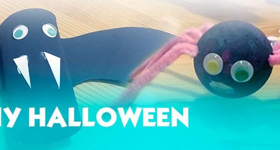 2 Manualidades fáciles para Halloween